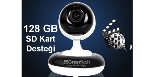GREENTECH GT-IP35HD WI-FI HAREKETLİ IP KAMERA